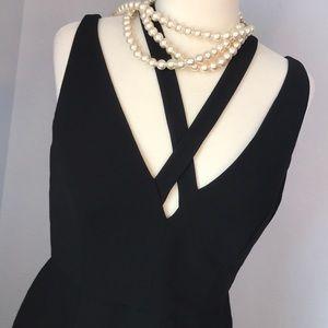 NWT black Calvin Klein sheath dress